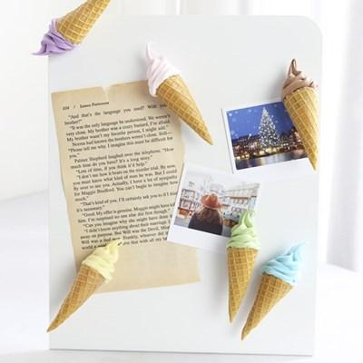 콘 아이스크림 모형 자석 1P