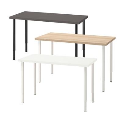 이케아 LAGKAPTEN/OLOV 길이조절 테이블 (120x60)