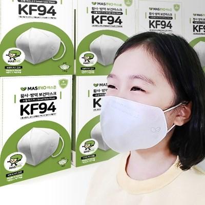 국산 KF94 마스콩 황사 유아 어린이마스크 소형 100매