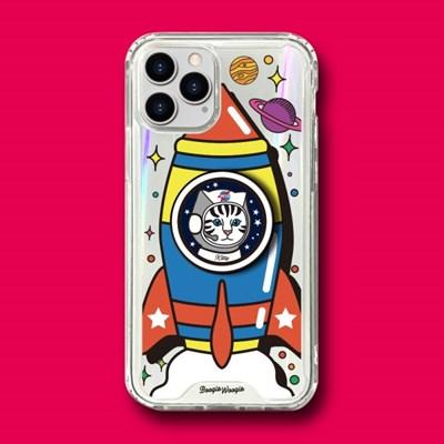범퍼클리어 케이스 스마트톡 세트 - 키티로켓(Kitty Rocket)
