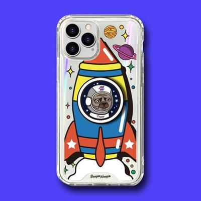 범퍼클리어 케이스 스마트톡 세트 - 멍멍로켓(Doggy Rocket)