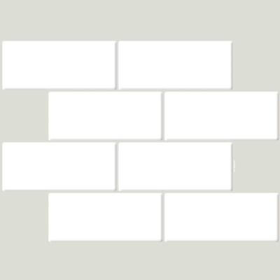 입체 우레탄 타일스티커 브릭 모디카 10개세트