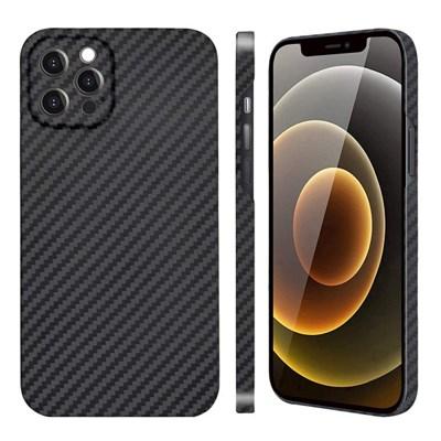 아이폰 12 Pro 페버 카메라 보호 풀 케블라 카본 케이스