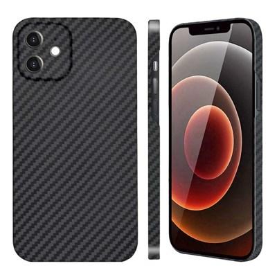 아이폰 12 페버 카메라 보호 풀 케블라 카본 케이스