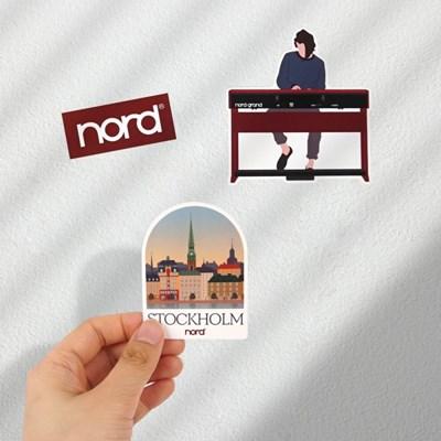 [nord] 노드 데코 스티커 팩 9종세트