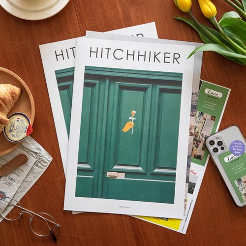 HITCHHIKER Poster Paper (+스티커 세트)
