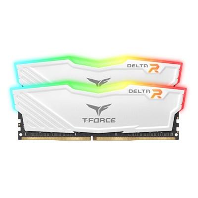 T-Force DDR4 16G PC4-28800 CL18 Delta RGB 화이트
