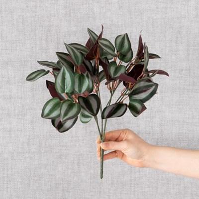풍성한심플달개비부쉬 32cm 조화 녹색식물 FAIBFT