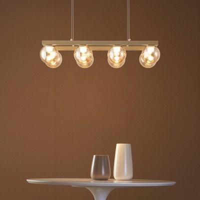 LED 그레이브 8등 펜던트조명 40W