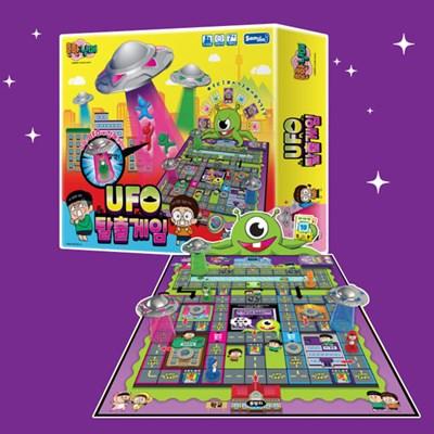 흔한남매 UFO 탈출게임 보드게임-어린이 아동 쉬운 보드