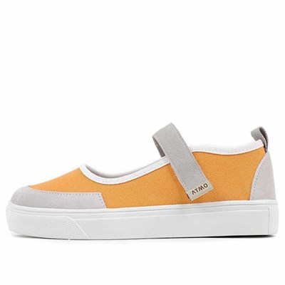 kami et muse Velcro strap flat style sneakers_KM21s116