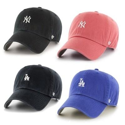 47브랜드 MLB모자 양키즈/보스톤/다저스 미니로고 모음