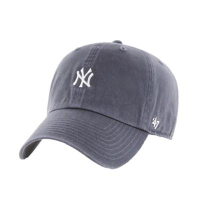 47브랜드 MLB모자 양키즈 네이비빈티지 화이트미니로고