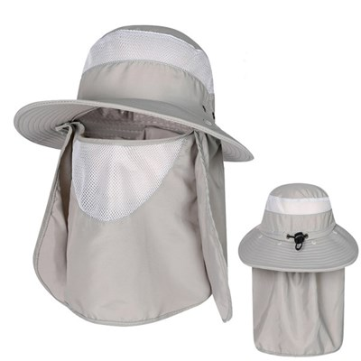 낚시모자 정글모자 사파리 썬캡 등산 농사 여름 햇빛차단 캠핑 그레