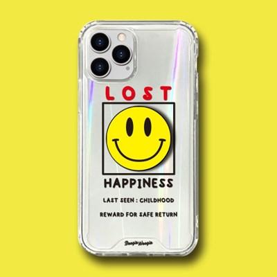 범퍼클리어 케이스 스마트톡 세트 - 해피니스(Happiness)