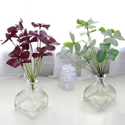 지피식물 그린테리어 고급조화 부쉬 사랑초 2color_(2495458)
