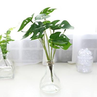 지피식물 그린테리어 고급조화 몬스테라 미니부쉬_(2495457)
