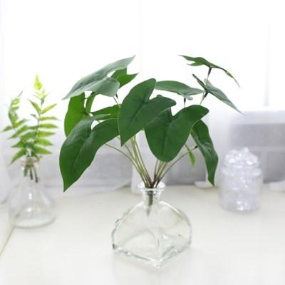 지피식물 그린테리어 고급조화 알로카시아 미니부쉬_(2495456)