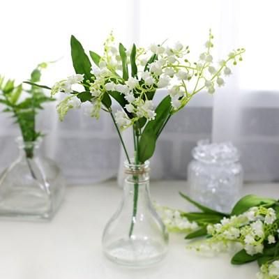 지피식물 그린테리어 고급조화 부케 은방울꽃 부쉬_(2495455)