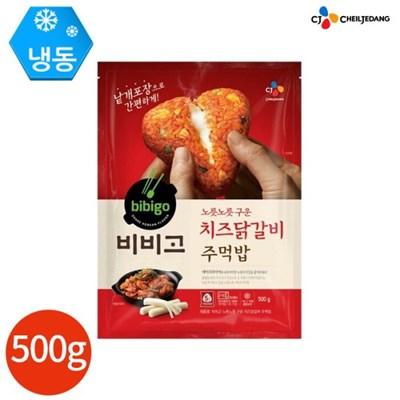 CJ 비비고 치즈닭갈비 주먹밥 100g x 5개