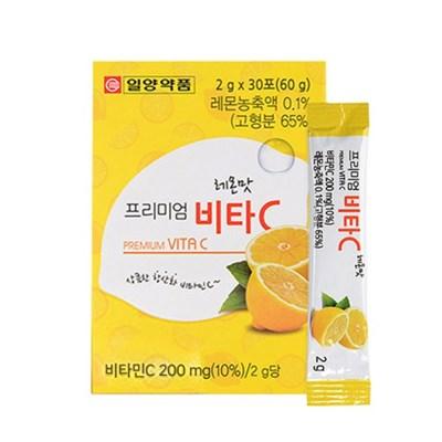 [일양약품] 프리미엄 비타C 레몬맛 30포