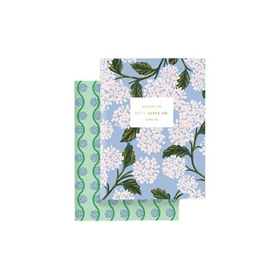 Hydrangea Pocket Notebooks 포켓 노트 북