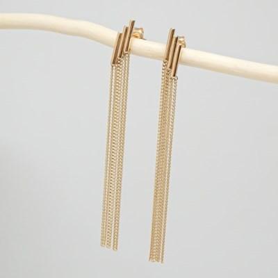 [오팔하우스]14k 테슬 드롭 귀걸이 OPDLE3030