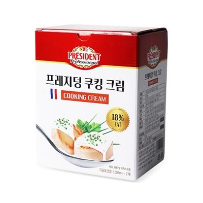 [코스트코] 프레지덩 휘핑 18% (1Lx2개입)_(972170)