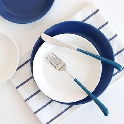 위즈라인 원형 컬러 접시 (7color)