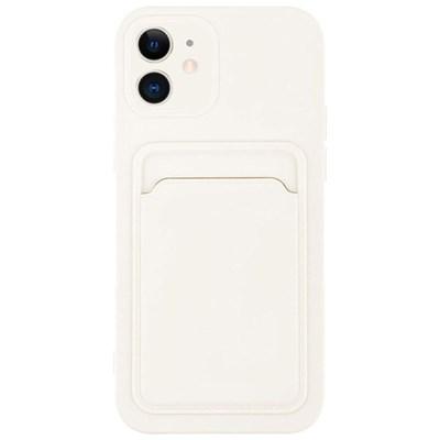 아이폰XS맥스 컬러 카드 포켓 커버 젤리 케이스 P574_(3828533)