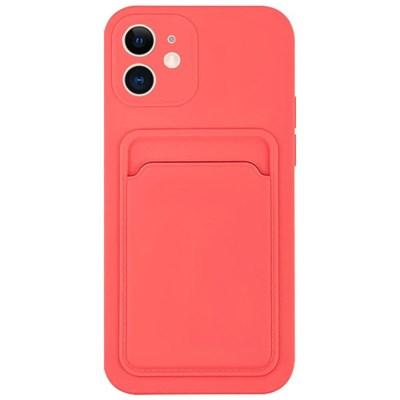 아이폰11 컬러 카드 포켓 커버 젤리 케이스 P574_(3828529)