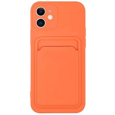 아이폰11프로 컬러 카드 포켓 커버 젤리 케이스 P574_(3828528)