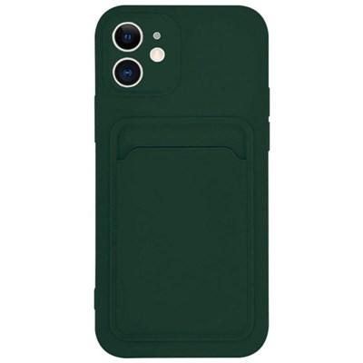 아이폰12프로 컬러 카드 포켓 커버 젤리 케이스 P574_(3828524)