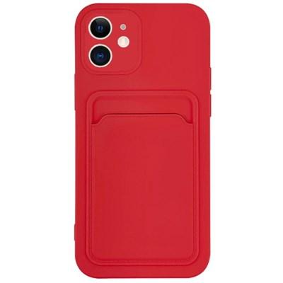 아이폰12프로맥스 컬러 카드 포켓 젤리 케이스 P574_(3828523)