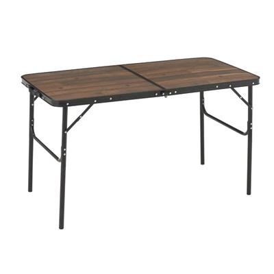 로고스 블랙 우드 접이식 캠핑 테이블 1200 73188041