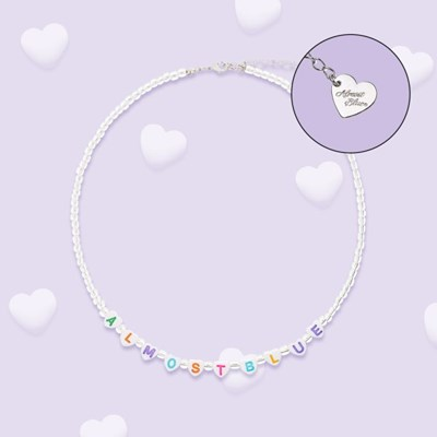 HEART BUBBLE NECKLACE