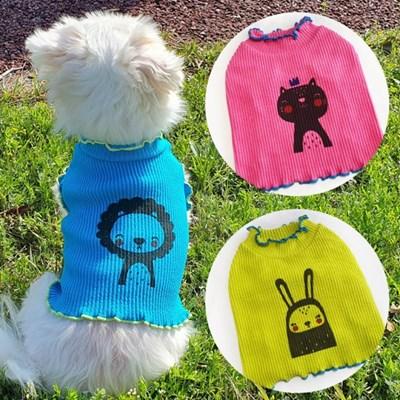 날라리크롭티 강아지티셔츠 애견옷 강아지옷 애견산책옷