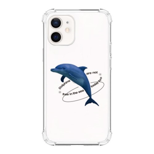 [범퍼케이스] Dolphins are not free - 아이폰