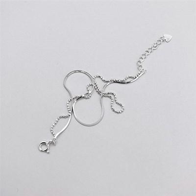 [Silver925] Double chain bracelet_(1537148)