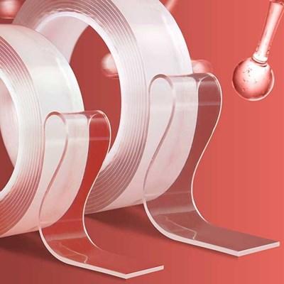 강력흡착 투명 양면테이프 세척사용 가능 3사이즈