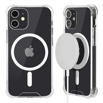 벤토사 맥세이프 호환 아이폰12 아이폰11 투명 바인더 케이스