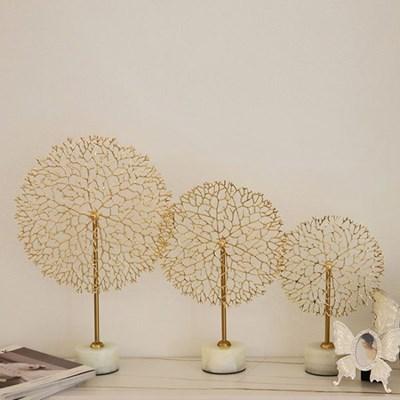 돈들어오는 돈나무 오브제 골드인테리어 풍수장식품