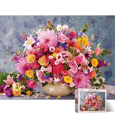 2000피스 직소퍼즐 핑크빛 꽃다발 PL2103