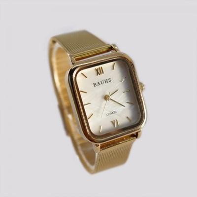 30대 여성 금장 패션 자개 시계 바우스 하버 골드_(512884)