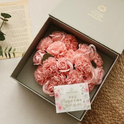 러브레터플라워박스 - 하트비누꽃 [2color]_(973056)