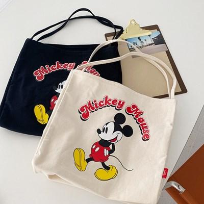 디즈니정품 미키 박스 숄더 에코백(acc308)_(1897754)