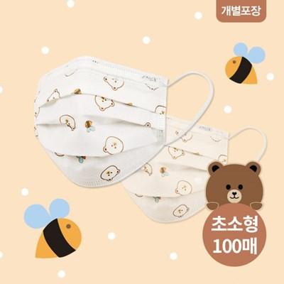 슈라모드_허티베어 초소형 마스크 100매 (2매입 개별포_(843896)