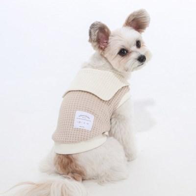 에덴숑-Sailor collar knit(세일러칼라니트-베이지)