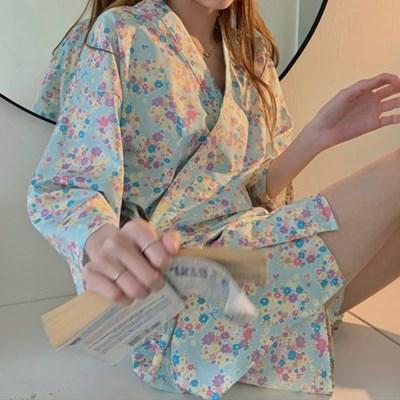 도로시 플라워 유카타 여름 잠옷 홈웨어