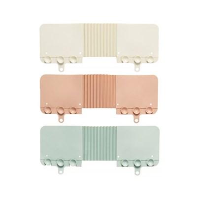 흡착식 코너형 싱크대물막이 완벽차단 2개 (색상선택)